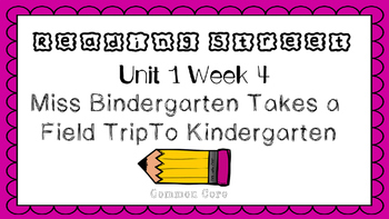 Unit 1 Week 4 Kindergarten Reading Street PowerPoint. Miss