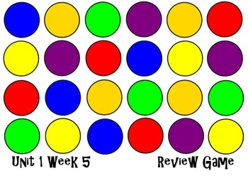 Unit 1 Week 5 Get The Egg Smart Notebook Review Game. Read