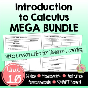 PreCalculus: Introdution To Calculus Bundle