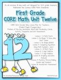First Grade CORE Math Unit 12