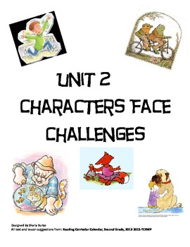 Unit 2-Characters Face Challenges