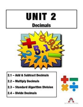 Unit 2: Decimals