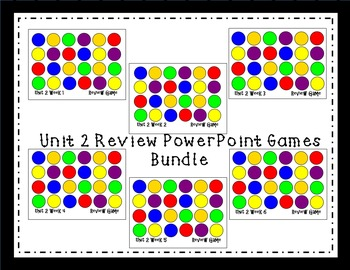 Unit 2 Interactive Review Games for Smart Notebook. Readin