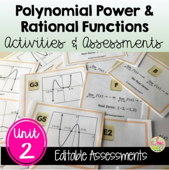 PreCalculus: Polynomial Power and Rational Functions  Revi