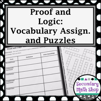 Proof - Logic - Unit 2: Proof & Logic Unit -  Vocabulary A