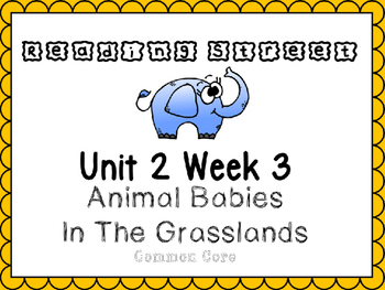 Unit 2 Week 3  Reading Street PowerPoint.Animal Babies In