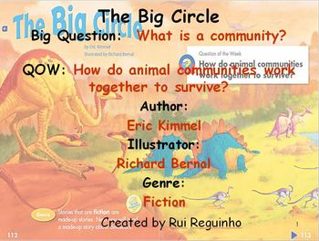 Unit 2 Week 4 - Lesson - The Big Circle - Lesson Bundle (V
