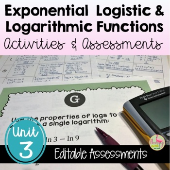 PreCalculus: Exponential-Logarithmic Functions Review & As