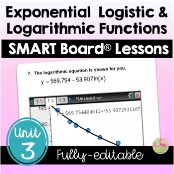 PreCalculus: Exponential-Logarithmic Functions SMARTBOARD
