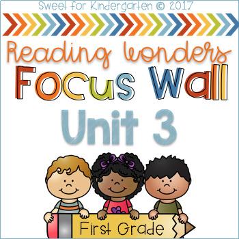 Unit 3 Focus Wall {Reading Wonders}