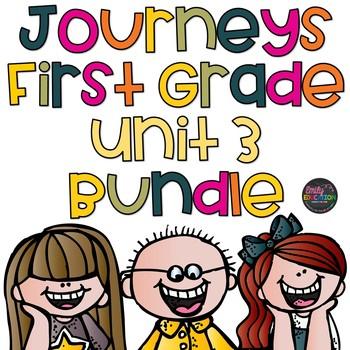 Unit 3 Bundle Journeys 1st Grade Supplement Activities