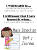 Unit 3 Main Selection Differentiated Journal- Grade 1 Read