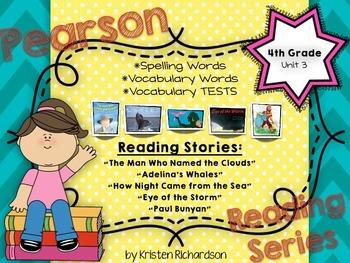 Unit 3 - 4TH GRADE Reading Street Spelling & Vocabulary {S