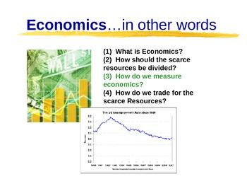 Unit 3 Powerpoint: Measuring the Economy