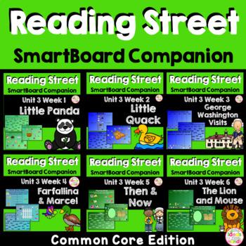 Unit 3 Common Core Edition SmartBoard Companion Kindergarten