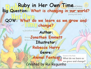 Unit 3 Week 2 - Ruby in Her Own Time - Lesson Bundle (Vers