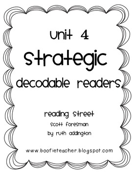 Unit 4 Fluency Passages STRATEGIC Decodable Readers Readin