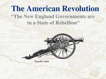 Unit 4 Powerpoint: American Revolution