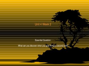 Unit 4 Week 2 Power Point Presentation Mc Graw Hill ELA Wo