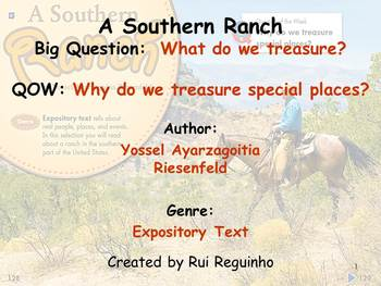Unit 4 Week 4 - Lesson - A Southern Ranch- Lesson Bundle (