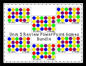 Unit 5 Interactive Review Games for Smart Notebook. Readin