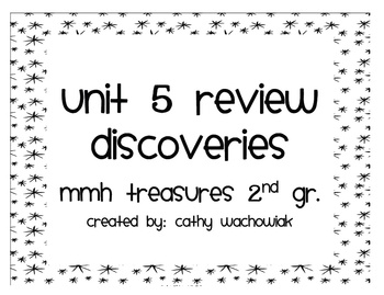 Unit 5 Review, MMH Treasures 2nd Grade