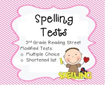 Unit 5 Spelling Test