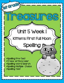 Unit 5 Week 1 Spelling for Treasures Reading Series