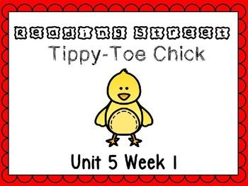 Unit 5 Week 1 Tippy Toe Chick PowerPoint Reading Street Fi