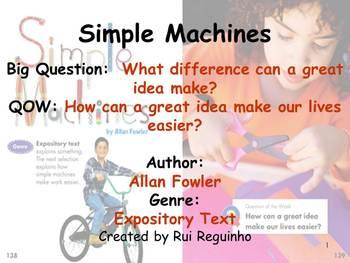 Unit 5 Week 4 - Lesson - Simple Machines - Lesson Bundle (