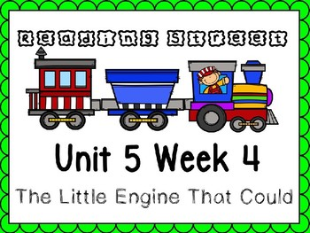 Unit 5 Week 4 Power Point The Little Engine That Could. Re