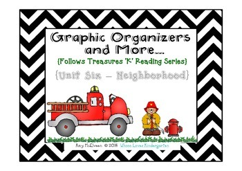 Unit 6 Graphic Organizers and More to Follow Treasures {Ne