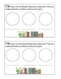 Kindergarten Math Journal 7