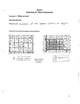 Unit 7 Notes Answer Key