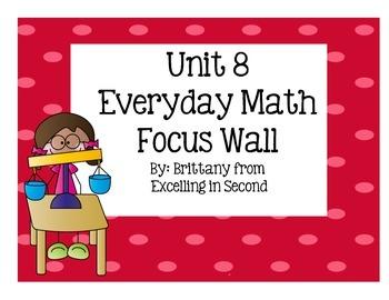 Unit 8 Focus Wall Everyday Math - 2nd Grade