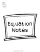 Unit Bundle: One Step Equations!