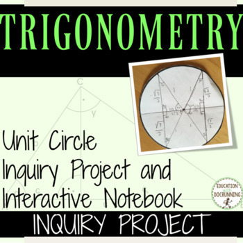Unit Circle Inquiry and Project 10% OFF IN APRIL