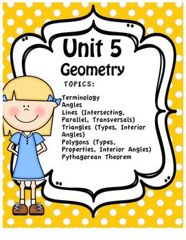 Unit Five - Full Unit - Geometry