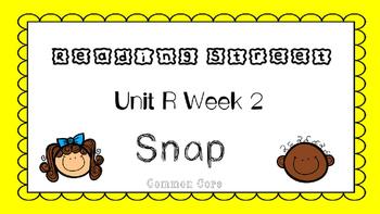 Unit R Week 2 PowerPoint. Snap. Reading Street. First Grad