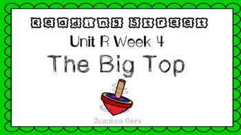 Unit R Week 4 PowerPoint. The Big Top. Reading Street. Fir