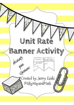 Unit Rate Banner