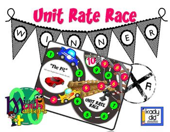 Unit Rate Race Car Game