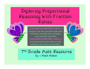 Unit Rate and Proportional Reasoning Problems Involving Co