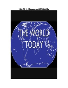 Unit Test- Globalization and the World Today