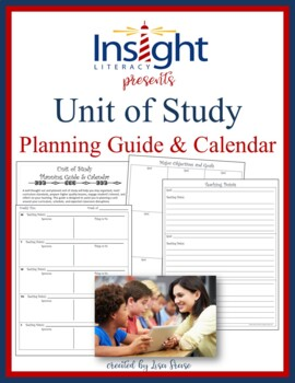 Unit of Study Planning Guide & Calendar