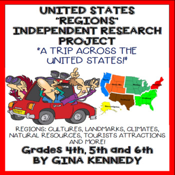 United Sates Regions Independent Research Project, Creativ
