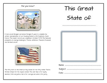United States (Study guide for the states)