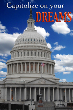 United States Capitol - Capitolize on your DREAMS - inspir