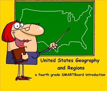 United States Geography and Regions - A Fourth Grade SMART