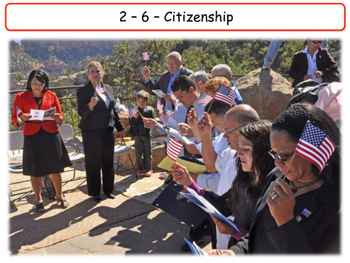 United States - Government & Civics - Unit 6 - Citizenship